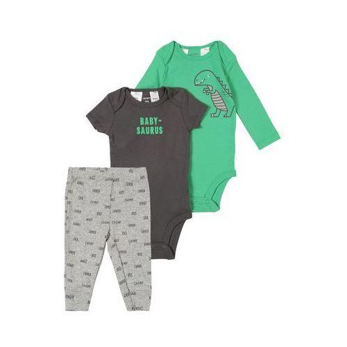 Carter's Zestaw do prania 'Little Character' szary / zielony, kolor zielony