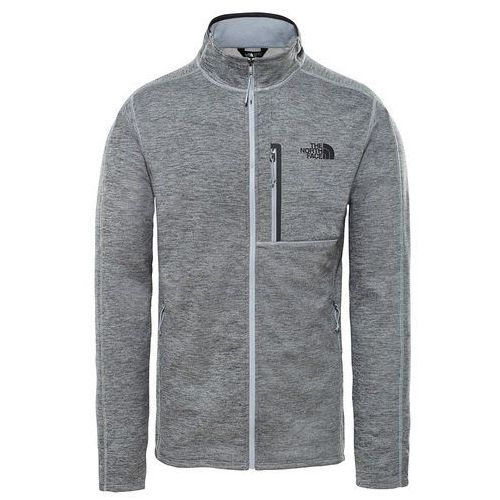 Bluza techniczna The North Face CANYONLANDS FULL ZIP medium grey, w 3 rozmiarach