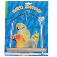 Pogromca nudy - huśtawka dla ptaków