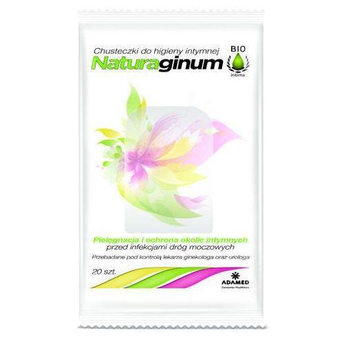 NATURAGINUM BIOINTIMA Chusteczki do higieny intymnej x 20 sztuk