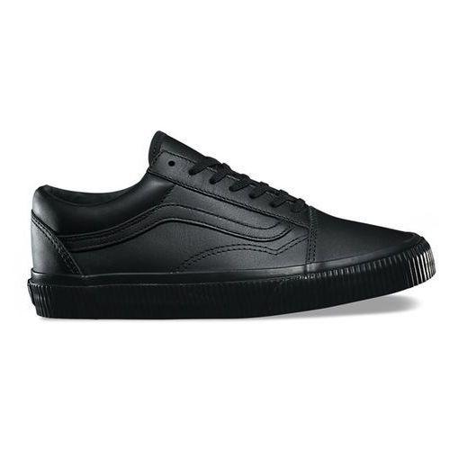 Buty VANS - Old Skool (Embossed Sidewall) Black/Black (ODX) rozmiar: 44.5