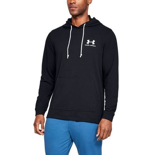 Under armour bluza sportstyle terry hoodie granatowa - granatowy