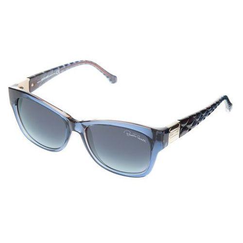Acamar okulary przeciwsłoneczne niebieski uni Roberto cavalli