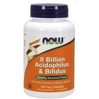 Kapsułki Now Foods 8 Bilion Acidophilus & Bifidus 120 kaps.