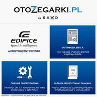 ZEGAREK CASIO EDIFICE EFV-550D-2AVUEF - DO 6 LAT GWARANCJI, WYSYŁKA GRATIS. SALON KRAKÓW!