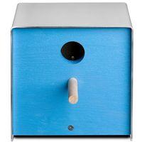 Budka dla ptaków Keilbach Twitter niebieska, 06 3104