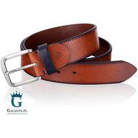 Brązowy pasek do spodni miguel bellido 940-38-1907-23-018