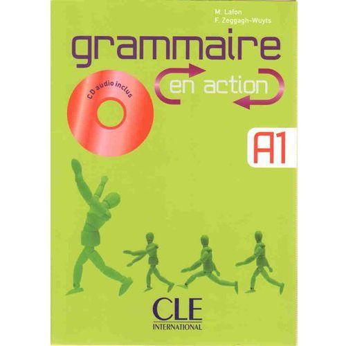 Grammaire en action A1 + Cd, oprawa miękka