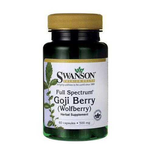 Kapsułki Swanson Full Spectrum Goji (Wolfberry) 500mg 60 kaps