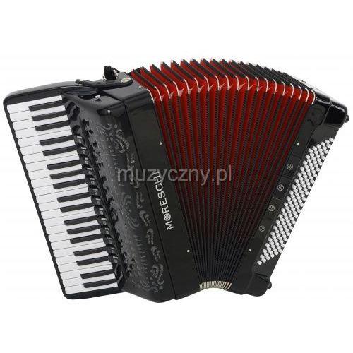 Moreschi ST 418 Cassotto (2+2) 41/4/13+M 120/5/4 Piccolo akordeon (czarny, czerwony miech)