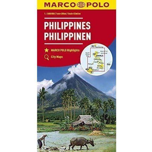 Mapy kontynentalne Filipiny 1:2 mil. MARCO POLO - Praca zbiorowa (9783829739474)