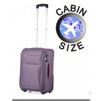 cb0c6c6b33f14 Puccini walizka mała/ kabinowa z kolekcji camerino miękka 2 koła materiał  polyester zamek szyfrowy NAJNIŻSZA CENA ONLINE