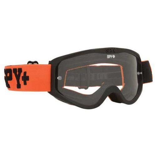 Spy Gogle narciarskie cadet mx jersey orange - clear w/ post