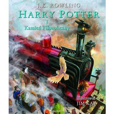 Harry Potter i kamień filozoficzny-ilustrowany - Wysyłka od 3,99 - porównuj ceny z wysyłką, J.K. Rowling
