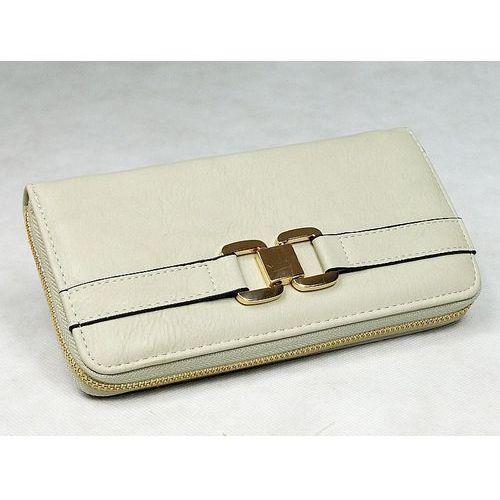 Ekskluzywny pojemny portfel damski świetny_prezent - szary Yuhe