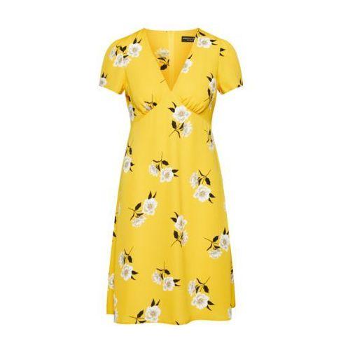 Dorothy perkins sukienka żółty