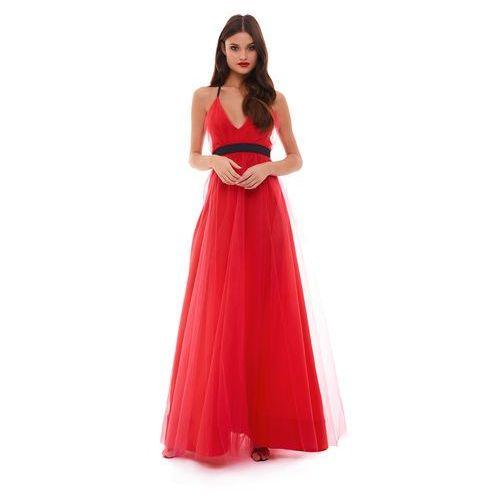 Sukienka enif w kolorze czerwonym marki Sugarfree