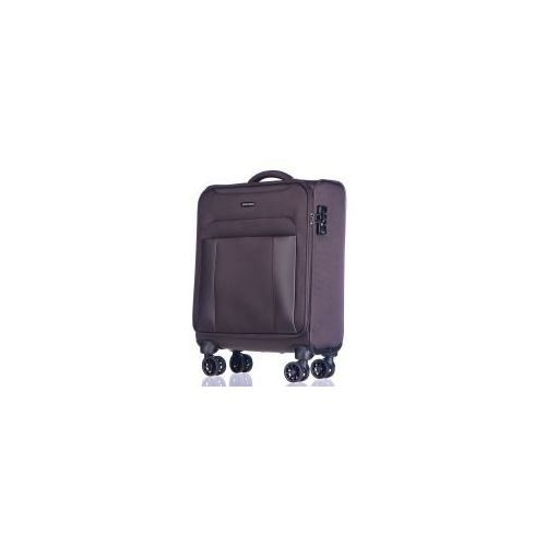 PUCCINI walizka mała/ kabinowa 4 koła z kolekcji BERLIN materiał nylon zamek szyfrowy TSA