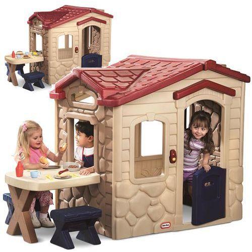 Lt domek piknikowy patio z magicznym dzwonkiem marki Little tikes