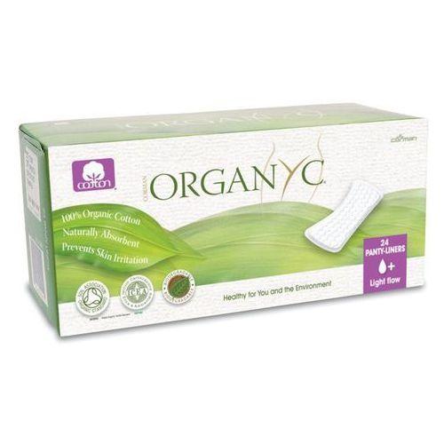 Cienkie wkładki higieniczne z bio-bawełny (♠+) Organyc