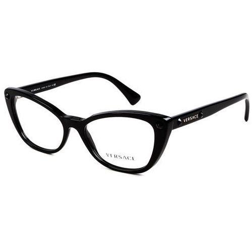 Okulary korekcyjne ve3222b crystal charm gb1 Versace