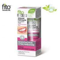 Proszek do zębów w gotowej formie DLA WRAŻLIWYCH ZĘBÓW - BEZPIECZNE WYBIELANIE - Fitokosmetik (4670017923027)