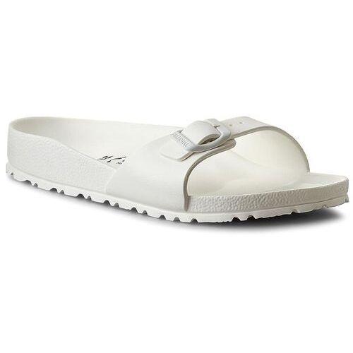 Klapki BIRKENSTOCK - Madrid 0128183 White, w 5 rozmiarach