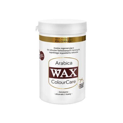 Wax colourcare arabica maska regenerująca arabica do włosów farbowanych 480ml marki Wax angielski pilomax