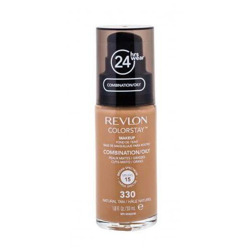 Colorstay combination oily skin spf15 podkład 30 ml dla kobiet 330 natural tan Revlon - Najlepsza oferta