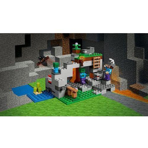 21141 Jaskinia Zombie The Zombie Cave Klocki Minecraft Lego