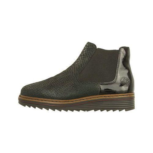 796ea4540d986 ▷ Y6384-00 black, botki damskie - czarny (Rieker) - ceny,rabaty ...