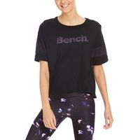 koszulka BENCH - Cropped Tee Black Beauty (BK11179) rozmiar: S