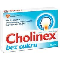 Pastylki CHOLINEX x 16 past. do ssania bez cukru