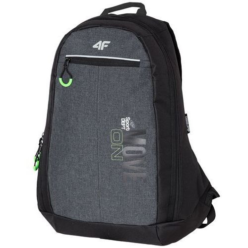 49872aab354f7 Plecak miejski PCU002z - ciemny szary melanż (4F) - opinie i ceny ...