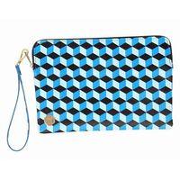 portfel MI-PAC - Sm Pouch Cubic Blue/Aqua (003) rozmiar: OS