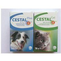 Ceva Cestal plus flavour 10 tabletek/ Tabletki Odrobaczające dla Psa.