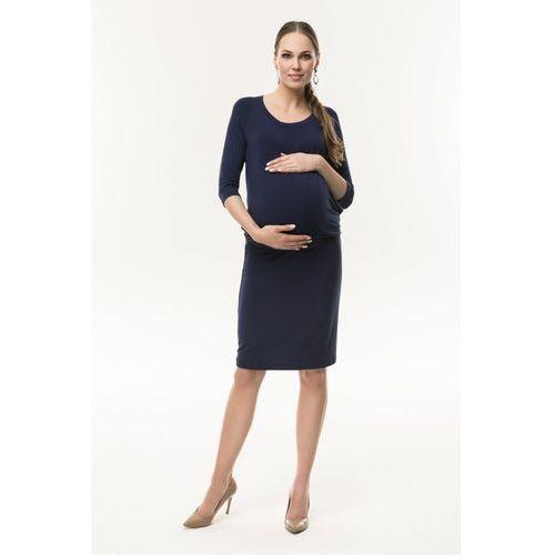 Sukienka ciążowa simple granatowa 5o36ni marki Cool mama