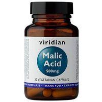 Kapsułki Malic Acid - odwodniony Kwas Jabłkowy 500 mg (30 kaps.) Viridian