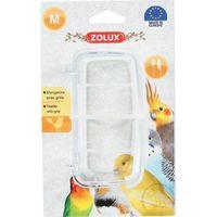 karmnik z kratką dla ptakow - średnie 100x55x50mm marki Zolux