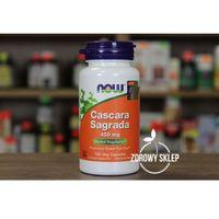 NOW Foods Cascara Sagrada szakłak amerykański 450mg 100 vege kapsułek