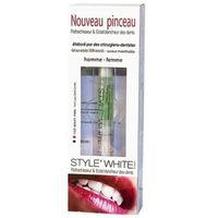 żel z pędzelkiem do wybielania zębów marki Style white