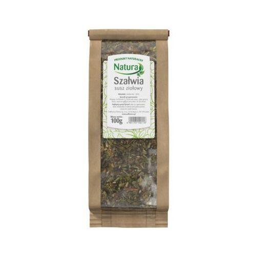 NATURA 100g Szałwia susz ziołowy 100% herbata
