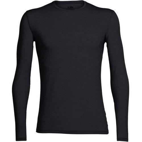 Icebreaker Anatomica Koszulka z długim rękawem Mężczyźni, black/monsoon L 2019 Podkoszulki z długim rękawem