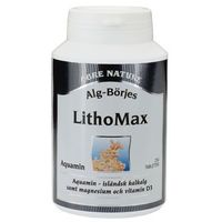 Tabletki LITHOMAX AQUAMIN, ALG-BÖRJE, 250 tab. STAWY, KOŚCI