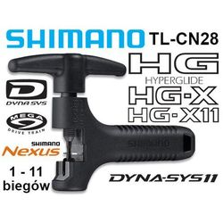 Wyciskacz łańcucha Shimano TL-CN28 HG/IG/UG/NX10 (1-11 rzedów)