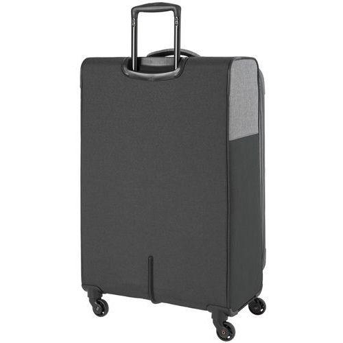1298f38bddd09 Travelite Neopak walizka duża poszerzana 77 cm / szara - antracyt  (4027002064966) - foto