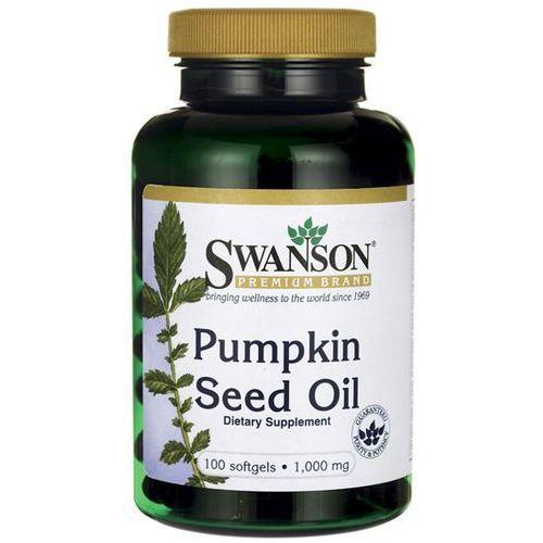 Swanson Pumpkin Seed Oil (Olej z pestek dyni) 1000 mg 100 kapsułek