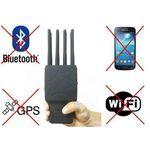 Mobilny Multi-Zagłuszacz Lokalizatorów GPS/Lojack+GPRS/GSM/UMTS + 2G/3G/4G/LTE + WiFi/Bluetooth..., 59077734152599