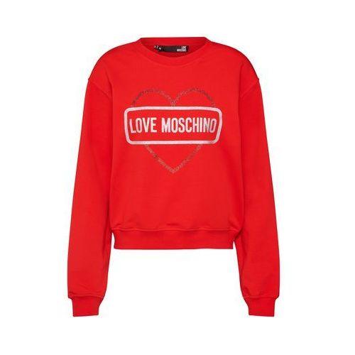 Love Moschino Bluzka sportowa czerwony