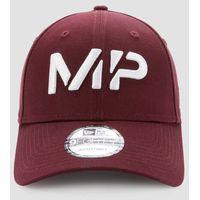 MP NEW ERA 9FORTY Baseball Cap - Washed Oxblood/White